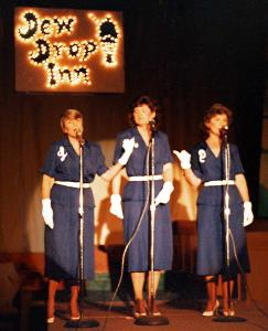 """The Andrews Sisters"" - Cathy Bryden, Linda Davis, Marilyn Johnman"