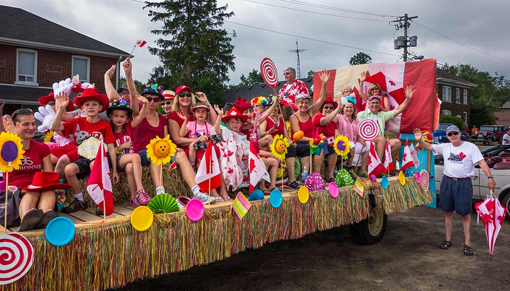 Canada Day Float